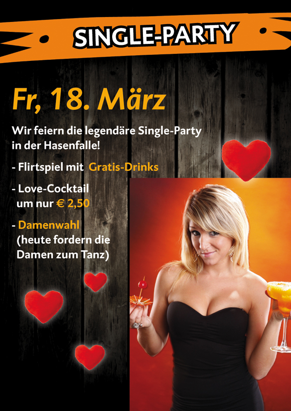 Single Party Events ab 26.06.2020 Party, Events - Szene1